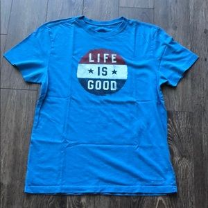 Life is Good Crusher Tee